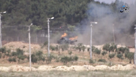 destruction-of-3-turkish-army-tanks-with-guided-missiles-near-the-syrian-turkish-border