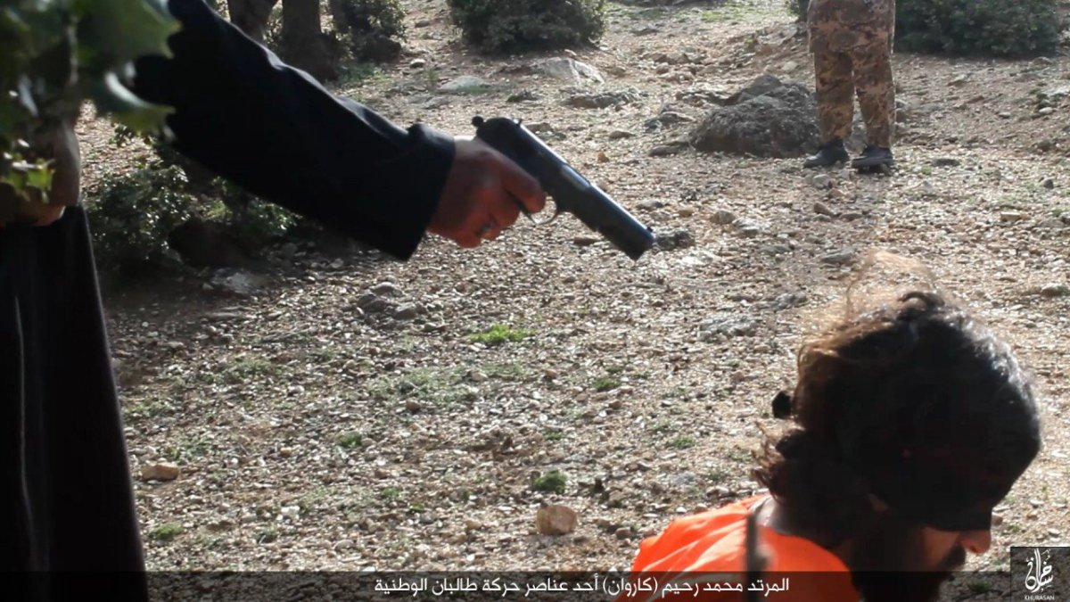 Islamic State Khorasan Executes Three Taliban Members