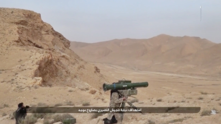 Islamic State Releases Footage of ATGM use on Russian and Syrian Forces near Palmyra